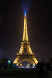 Tour Eiffel in the night Stock Image