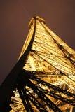 Tour Eiffel par nuit, Paris Image libre de droits