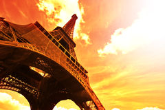 Tour Eiffel - Paris Photos stock