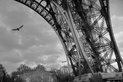 Tour Eiffel, Paris, 2006 Royalty Free Stock Image