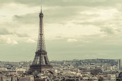 Tour Eiffel in Paris Royalty Free Stock Photos