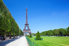 Tour Eiffel, Paris, France Photos libres de droits