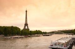 Tour Eiffel in Paris Royalty Free Stock Photos