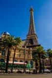Tour Eiffel, Paris Las Vegas Images stock