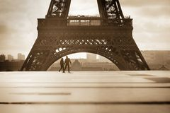 Tour Eiffel, Paris. View of the Eiffel Tower, Paris, France Stock Photos