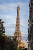 Tour Eiffel, Paris. View of the Eiffel Tower, Paris, France Stock Images