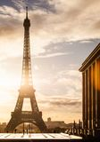 Tour Eiffel, Paris. View of the Eiffel Tower from Trocadero, Paris, France Royalty Free Stock Photos