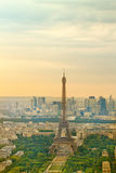 Tour Eiffel at sunset, Paris Royalty Free Stock Photography