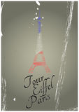 Tour eiffel vintage Royalty Free Stock Photos