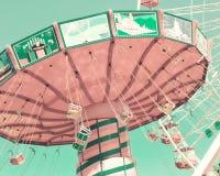 Tour en pastel d'oscillation de vintage Images libres de droits