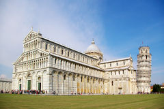 Tour et cathédrale de Pise image stock