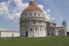 Tour et saint Mary Cathedral de Pise Photos libres de droits
