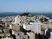 Tour et San Francisco de Coit photographie stock libre de droits