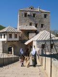 Tour et vieilles maisons Photos libres de droits