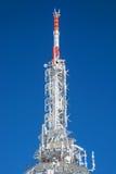 Tour figée de télécommunication Images libres de droits