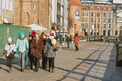 Tour of Gdansk. Stock Image