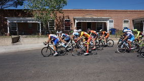 Tour of the Gila Bike Race Silver City, NM 2017 royalty free stock photos