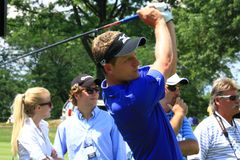 Tour golfer Luke Donald Stock Image