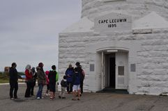 Tour Group Cape leeuwin lighthouse Port Augusta Western Australia Stock Images