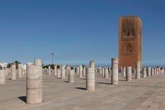 Tour Hasana.Rabat Photographie stock libre de droits