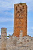 Tour Hassan tower in Rabat Stock Image