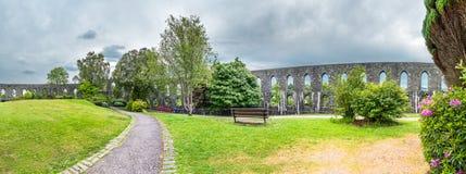 Tour historique du ` s de McCaig dans Oban, Argyll - Ecosse image stock