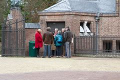 Tour Hunting Lodge St. Hubert, Netherlands Stock Image