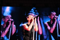 Tour in Italy  Depeche Mode Stock Photo