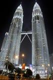 Tour jumelle de Petronas Photo libre de droits