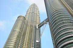 Tour jumelle, Kuala Lumpur Photos libres de droits