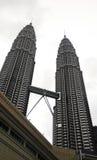 Tour jumelle Kuala Lumpur de Petronas Image libre de droits
