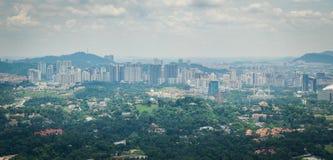 Tour Kuala Lumpur Malaysia de kilolitre de boîte de ciel images stock