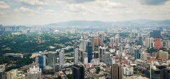 Tour Kuala Lumpur Malaysia de kilolitre de boîte de ciel photo libre de droits