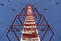 Tour Liblice, la construction la plus élevée d'émetteur radioélectrique dans la République Tchèque Photos libres de droits