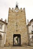 Tour médiévale dans Caminha Images stock