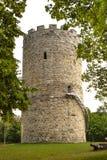 Tour médiévale dans mauvais Abbach Images libres de droits
