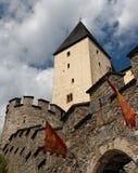 tour médiévale de mauterndorf de château Photographie stock libre de droits