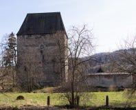 Tour médiévale, Siedlecin, Pologne Photos libres de droits