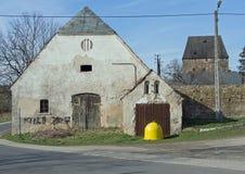 Tour médiévale, Siedlecin, Pologne Image libre de droits