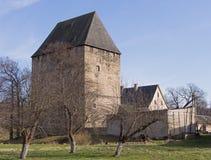 Tour médiévale, Siedlecin, Pologne Photographie stock libre de droits