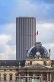 Tour Montparnasse and Les Invalides, Paris Royalty Free Stock Photo
