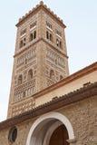 Tour Mudejar de style, San Martin Teruel Héritage espagnol Archi Photographie stock libre de droits