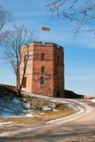 Tour occidentale du château supérieur Image libre de droits