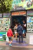 Tour operator in Banos, Ecuador Immagine Stock