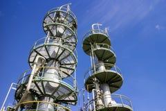 Tour pétrochimique Images stock