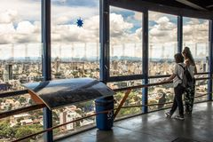 Tour panoramique image stock