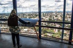 Tour panoramique photographie stock