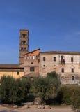Tour penchée à Rome Image libre de droits
