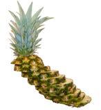 Tour penchée d'ananas Images stock