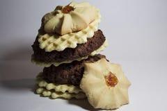 tour penchée des biscuits de Pise images stock